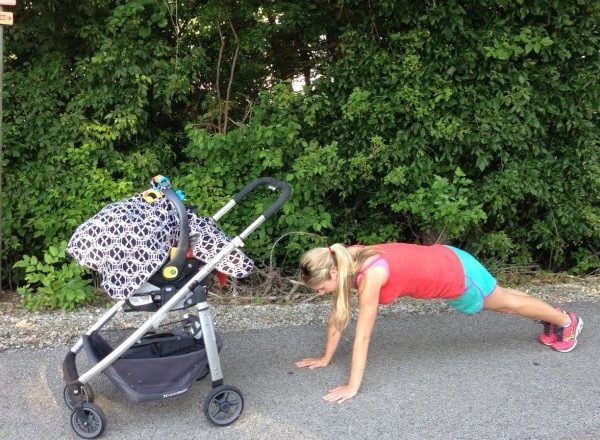 Stroller Workout for Your Next Walk in the Park
