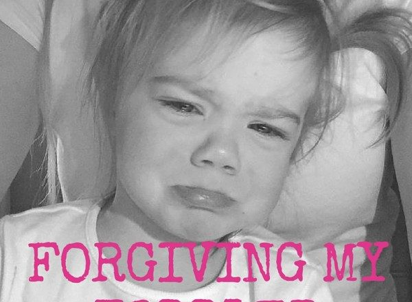 On Forgiving My Toddler