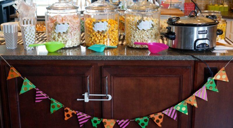 Lottie's 2nd Birthday Party: Popcorn Party