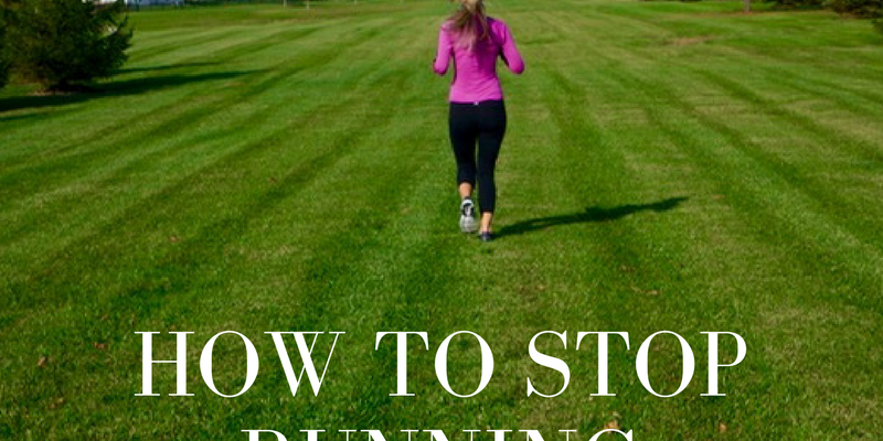 How to Stop Running